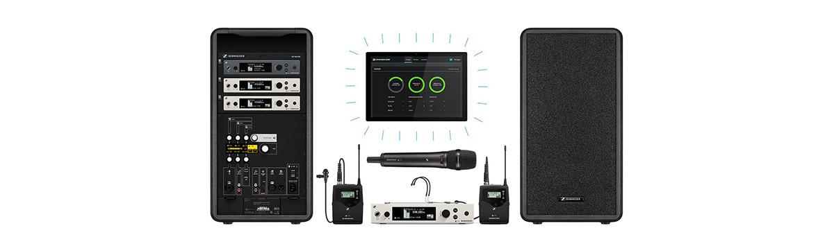 Микрофонные системы Sennheiser Evolution Wireless G4 для бизнеса и образования