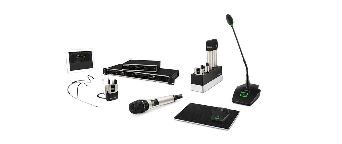 SpeechLine – беспроводная микрофонная система для конференц-связи и публичных выступлений