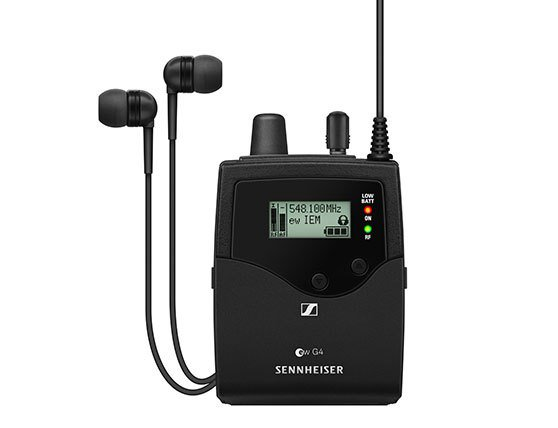 Микрофонные системы Sennheiser Evolution Wireless G4 для живого звука