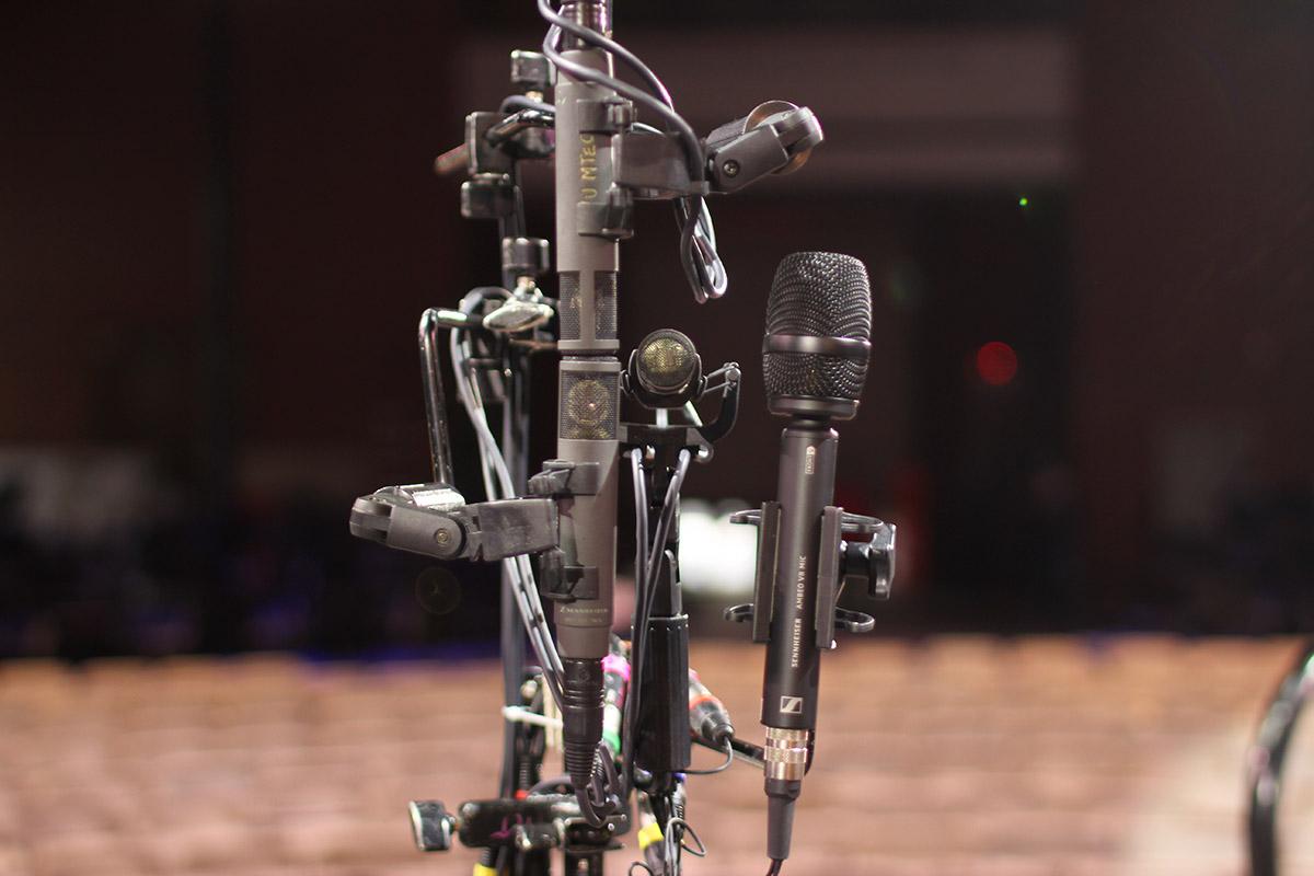 """""""симфония для сломанного оркестра"""" в формате 3d с микрофонами sennheiser ambeo vr и mkh"""