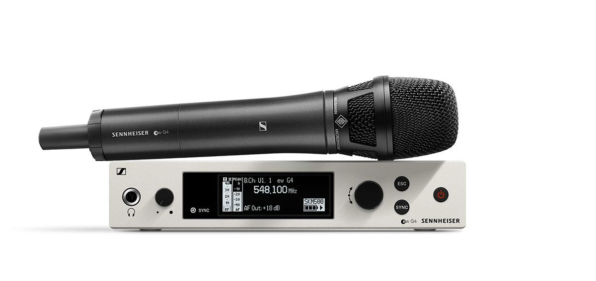 Sennheiser и Neumann представляют юбилейную беспроводную микрофонную систему в эксклюзивной комплектации