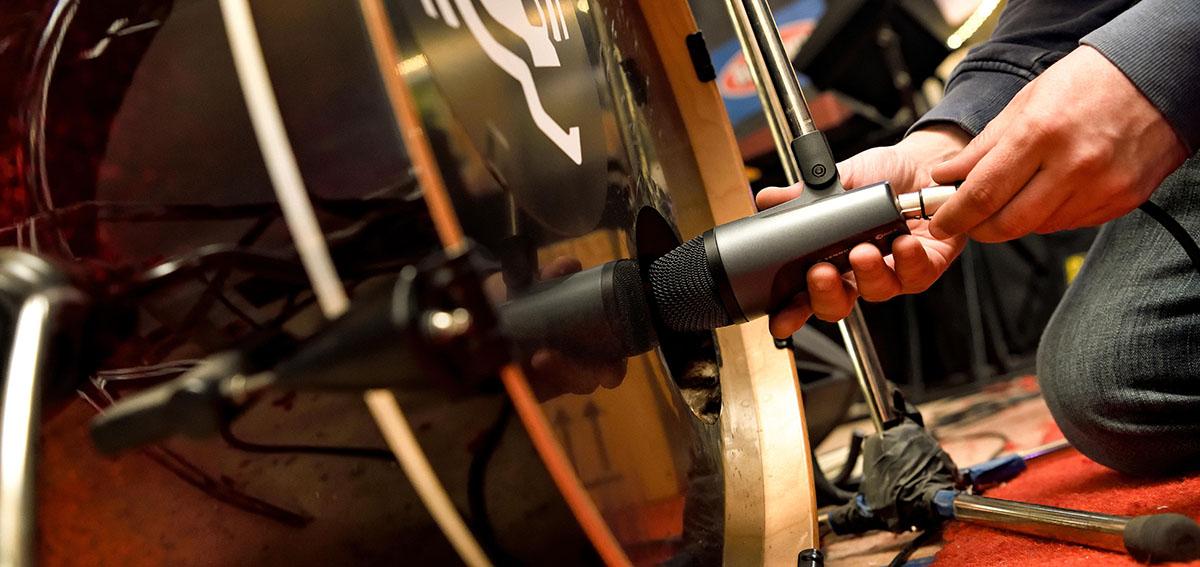 Инструментальный e 602-II для бас-барабана: в ударе с рождения!