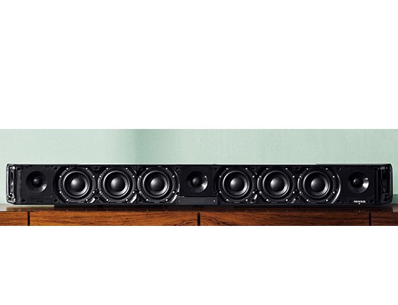 новая аудиопанель Sennheiser AMBEO Soundbar воспроизводит звук с непревзойденным качеством. Удобная и компактная AMBEO Soundbar - это, в первую очередь, возможность слушать прекрасный многоканальный объемный звук 5.1.4 просто дома!