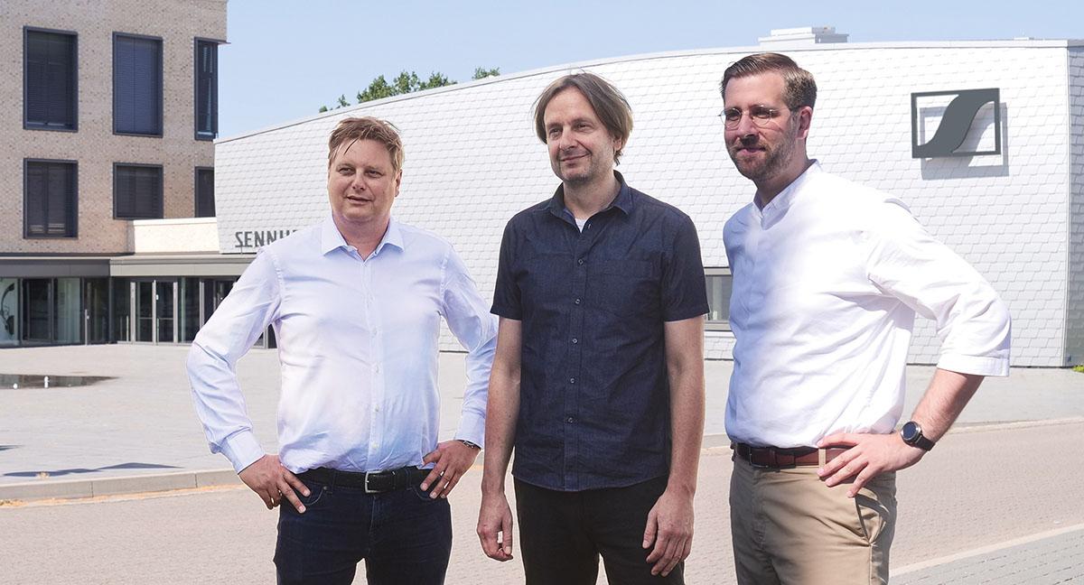 Руководство Dear Reality GmbH в новом составе (слева направо): генеральные директора Уве Кремеринг, Ахим Фелл и Кристиан Сандер.