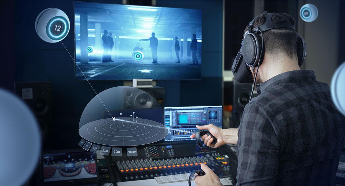 dearVR SPATIAL CONNECT - микширование иммерсивного звука в виртуальной среде.