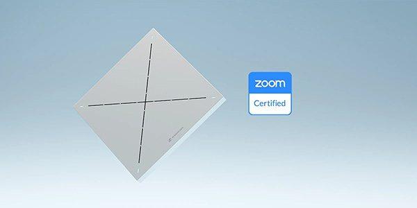 Потолочная конференц-система TCC2 получила сертификат Zoom